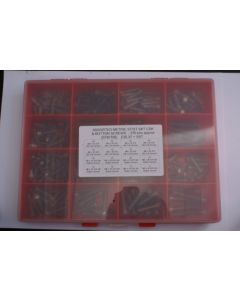 Assorted Metric A2 Stainless Steel Skt Csk and Button Screws - 270pcs